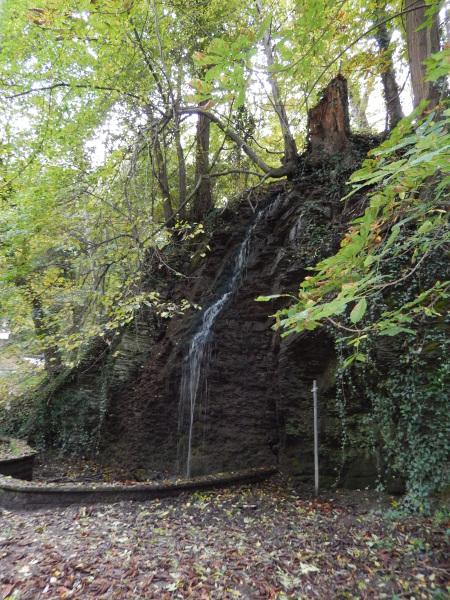 Wasserfall im Hähnerbachtal
