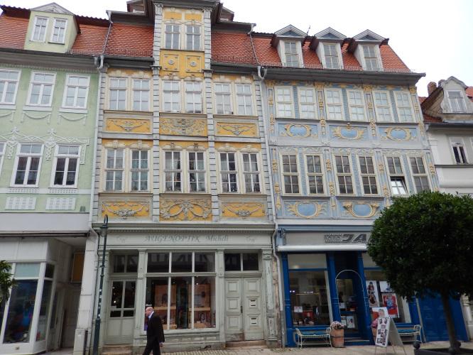 Bad Langensalza-sehr schiefes Haus