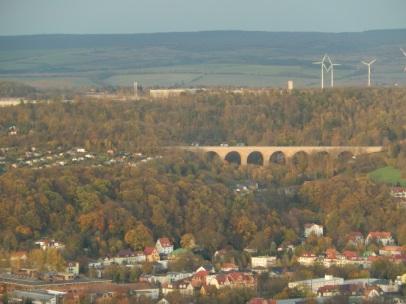 schönes Viadukt