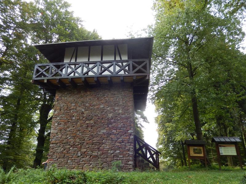 Römerturm am Limes