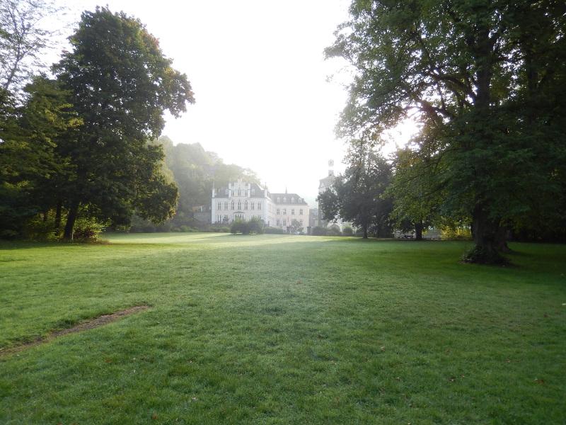 Schloss Sayn am Morgen