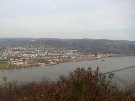 22 Ausblick auf Rheinbrohl