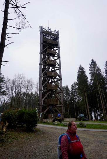 Aussichtsturm Auf de Lindchen, 341 m ü. N.N.