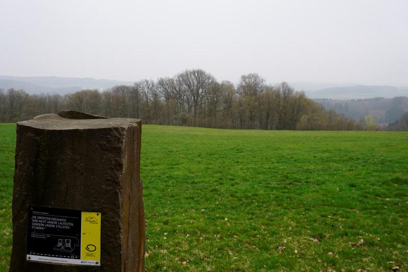 Etappenstein, Bergischer Panoramasteig