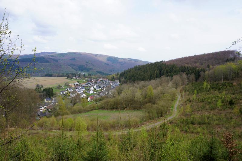 Natursteig Sieg, Ausblick auf Katzenbach