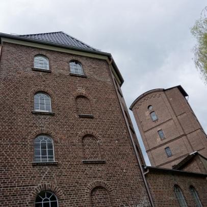 Mühle aus einer etwas ungünstigen Position fotografiert