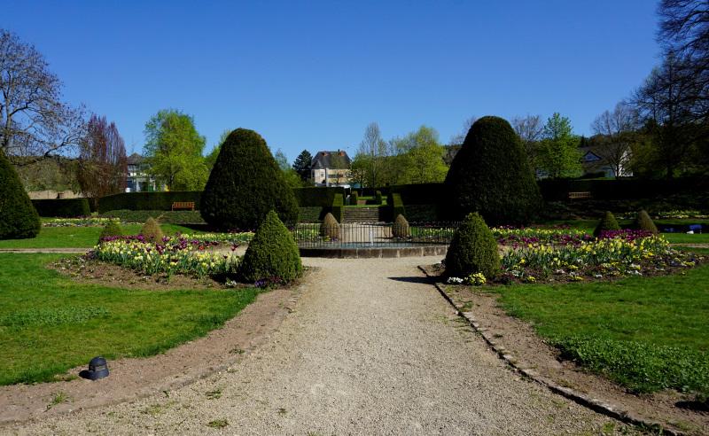 Ehemaliger Barockgarten des Palais von Nell