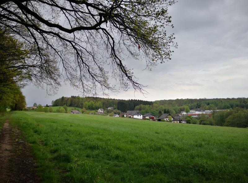 Bergischer Panoramasteig bei Wiehl
